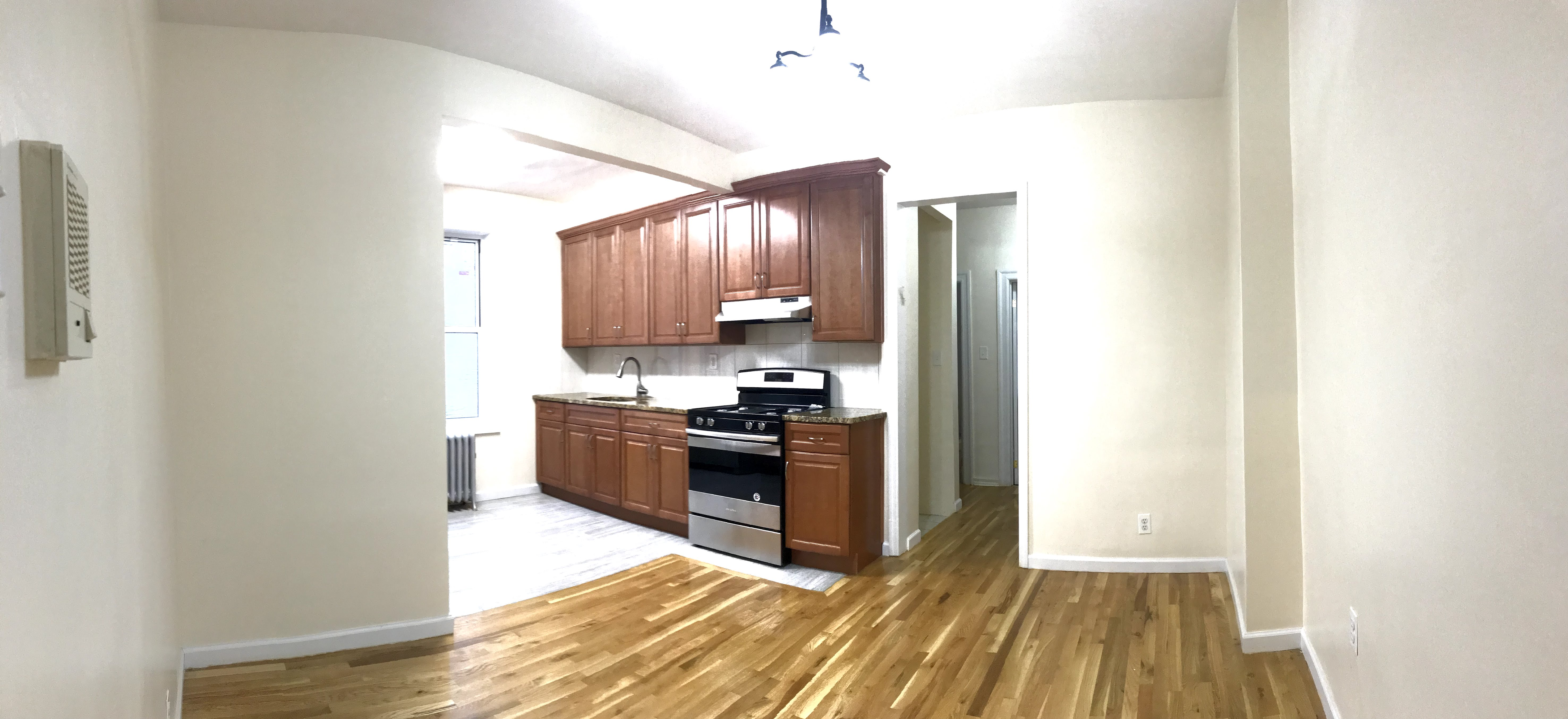 Renovated 700 sf 2 bedroom apartment in crown heights washer dryer hookup for 2 bedroom apartments with washer and dryer hookup